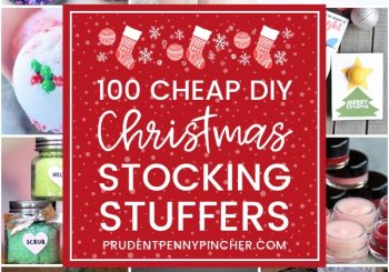 100 günstige Weihnachten DIY Stocking Stuffers