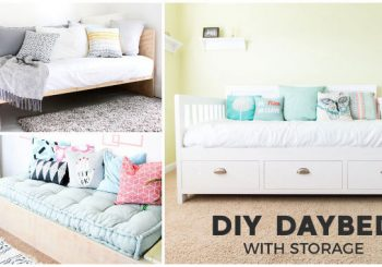11 DIY Daybed Plans Made With Plywood