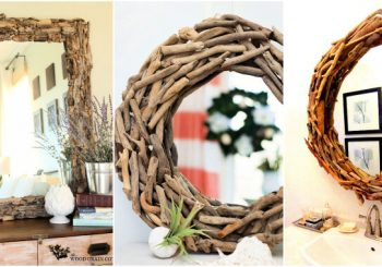 20 Best DIY Driftwood Mirror Ideas
