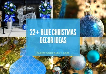 22+ Best Blue Christmas Decor Ideas