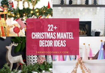 22+ Best Christmas Mantel Deko-Ideen