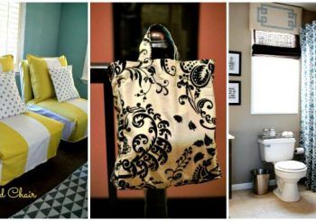 24 DIY Home Decor Projects Using Old Curtains