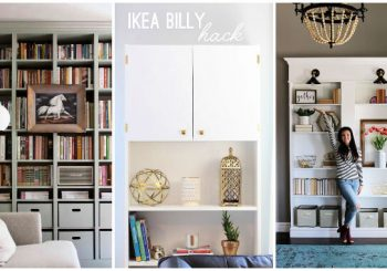 25 Best IKEA Billy Bookcase Hacks