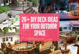 26+ Outdoor Deck Designs und Ideen (mit Fotos)
