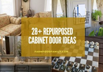 28+ Awesome Repurposed Cabinet Door Ideas
