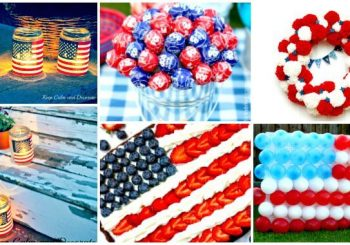 30 DIY 4th of July Decorations – Patriotic Fourth of July Projects 2018