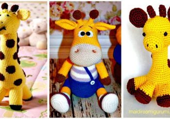 32 Free Crochet Giraffe Amigurumi Patterns