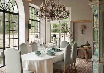 55 Beautiful French Country Dining Room Decor Ideas