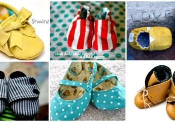 55+ DIY Baby Shoes with Free Patterns and Tutorials