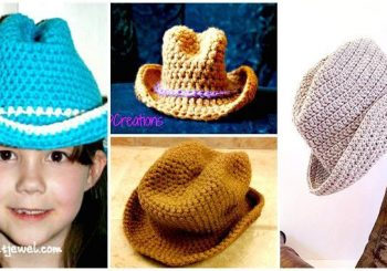 6 Free Crochet Cowboy Hat Patterns