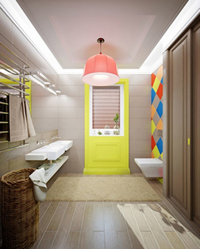 Home Country Bathroom For Kids