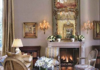 80 Fancy French Country Living Room Decor Ideas