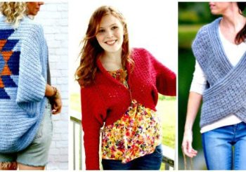 Crochet Shrug Patterns – 20 Free Unique Designs