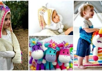 Crochet Unicorn Pattern- 32 Free Crochet Patterns